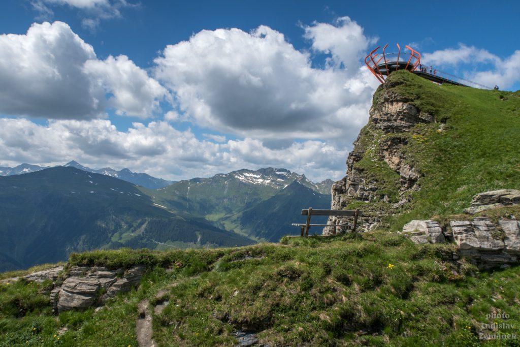 vyhlídková plošina Glocknerblick