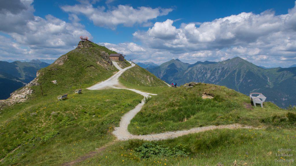 vyhlídková plošina Glocknerblick s cestou