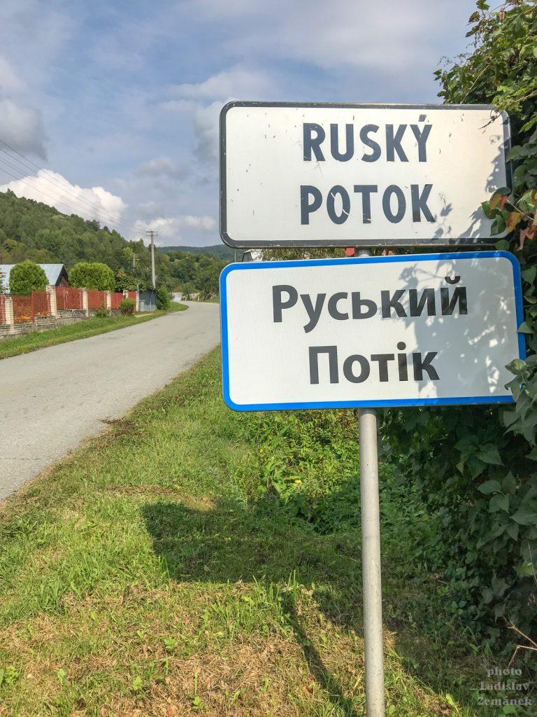 Poloniny - Ruský potok