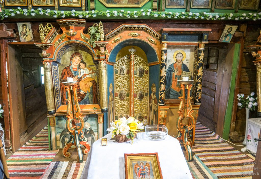 Poloniny - Ruský potok - kostelík
