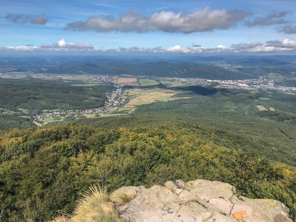 Sninský kameň - výhled na Vihorlat
