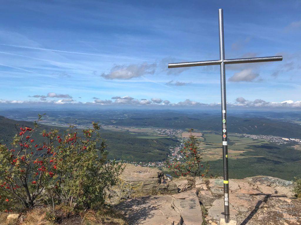Sninský kameň - vrcholový kříž