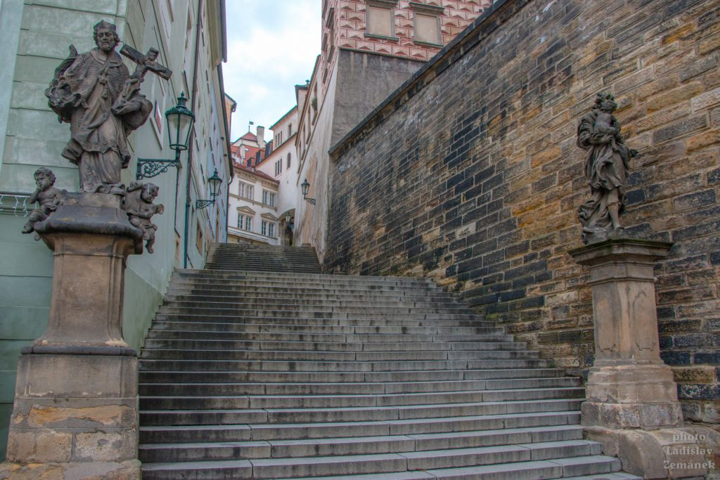 Praha bez lidí - Radnické schody