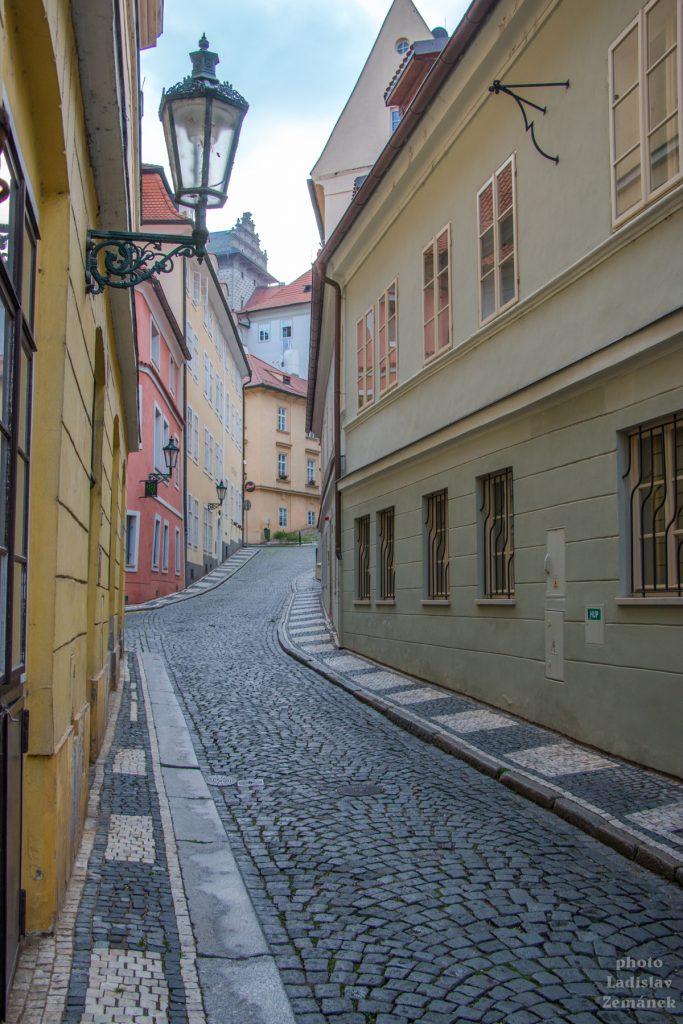 Praha bez lidí - Janský vršek