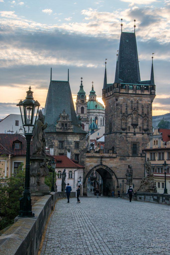 Praha bez lidí - Karlův most