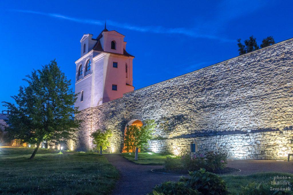 Litoměřice - Jezuitská hvězdárna - modrá hodina