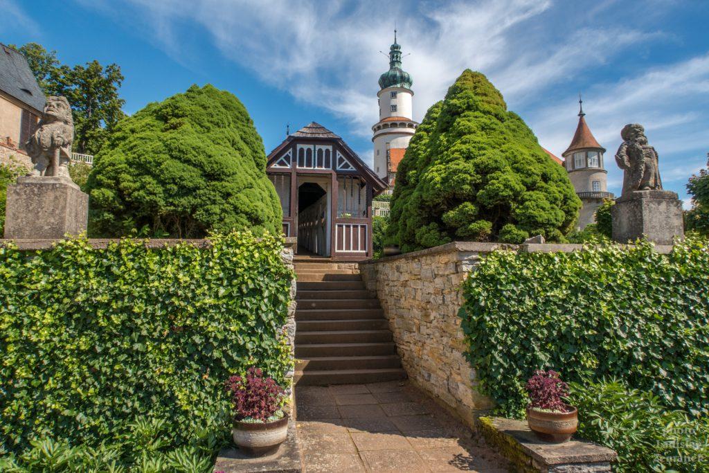 Nové Město nad Metují - zámecká zahrada