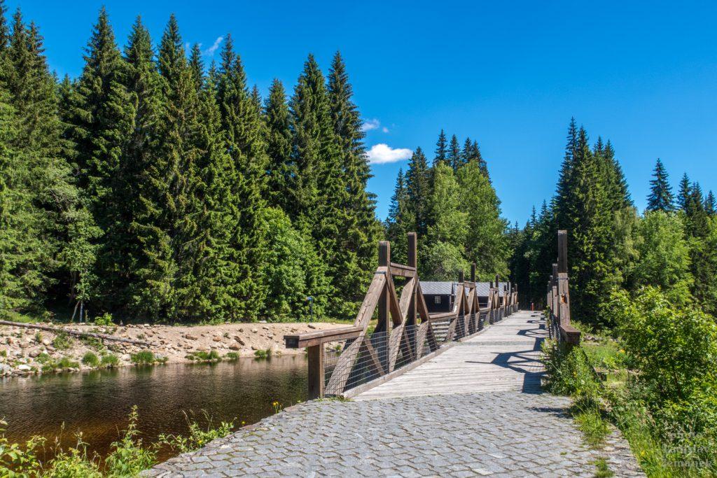 Vydra - hradlový most Rechle