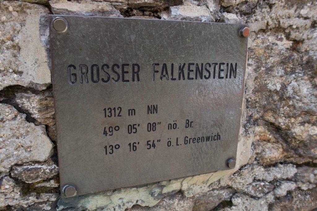 Bavorský les - Grosser Falkenstein