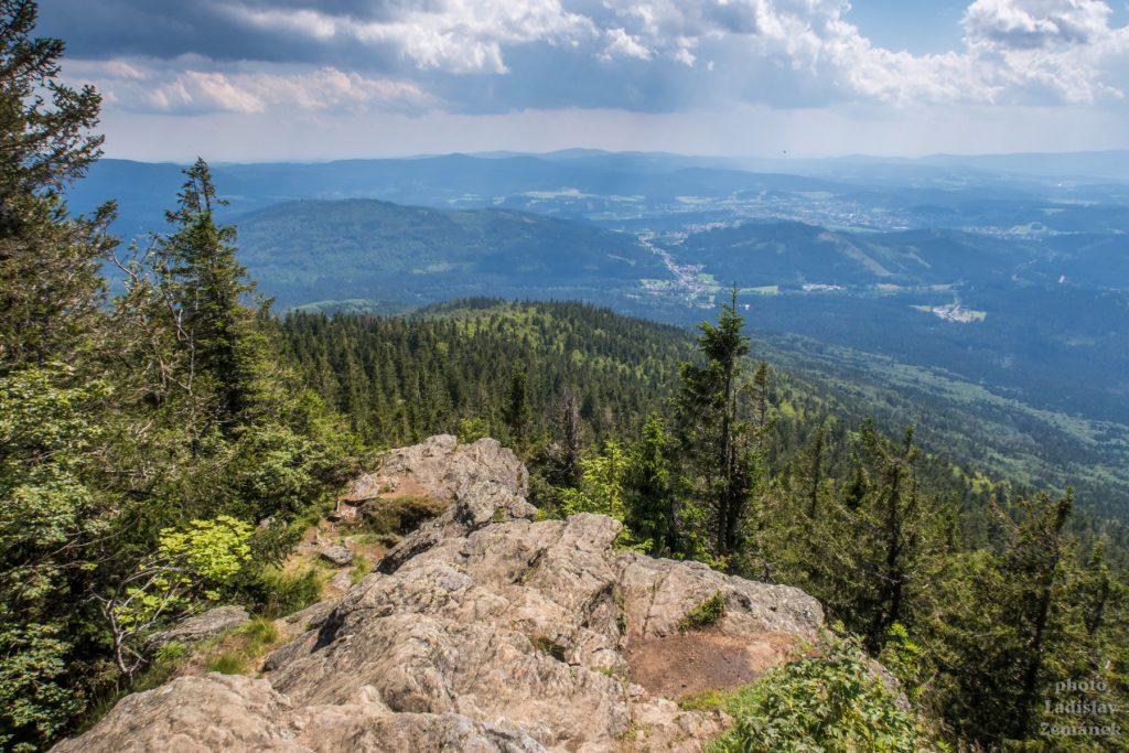 Bavorský les - Falkenstein