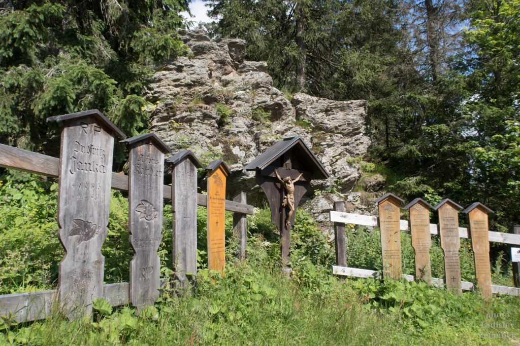 Bavorský les - Umrlčí prkna na Falkensteinu