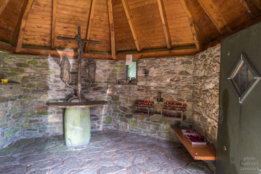 Bavorský les - Falkenstein - kaple sv. Františka