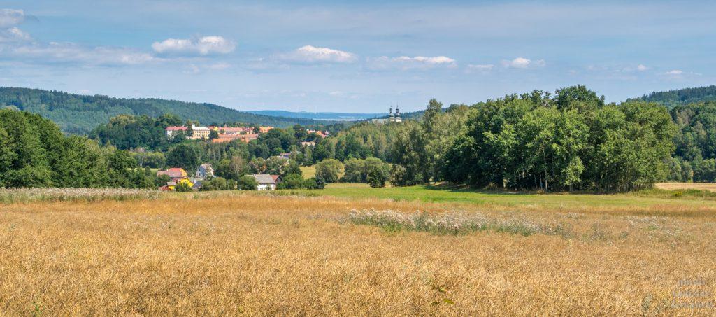 výhled na Kynšperk nad Ohří