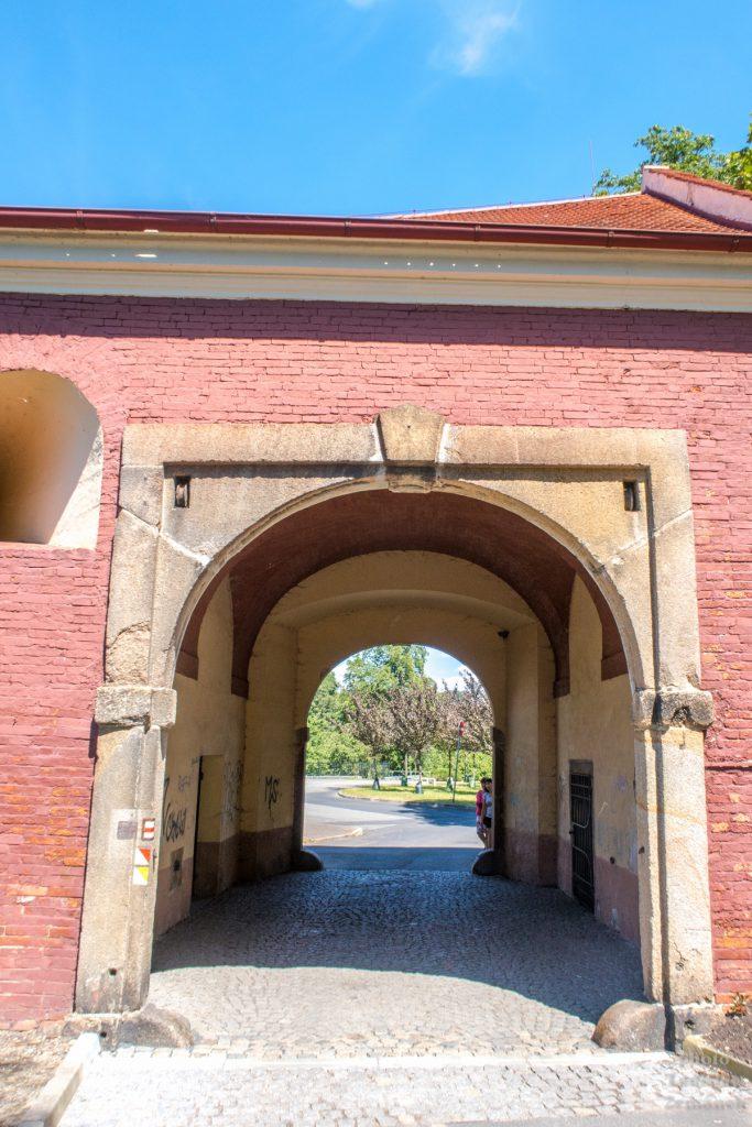 Cheb - Písečná brána