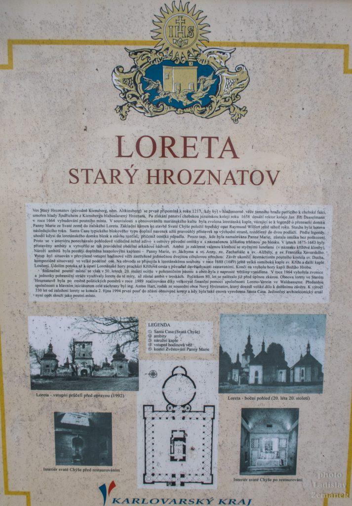 Starý Hrozňatov - Loreta