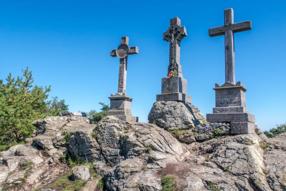 Slavkovský les - Tři kříže