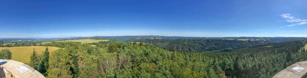 Slavkovský les - Krásenská rozhledna