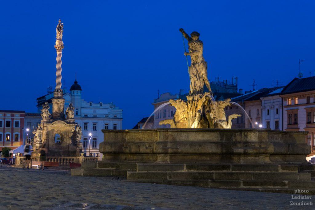 Večer v Olomouci