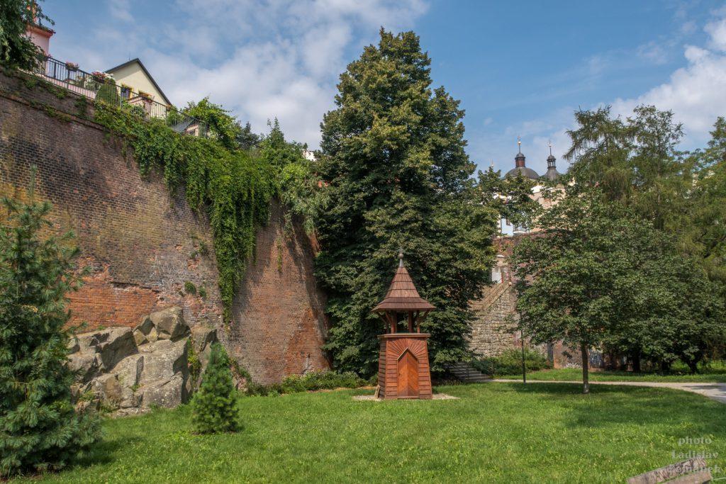 Olomouc - hradby