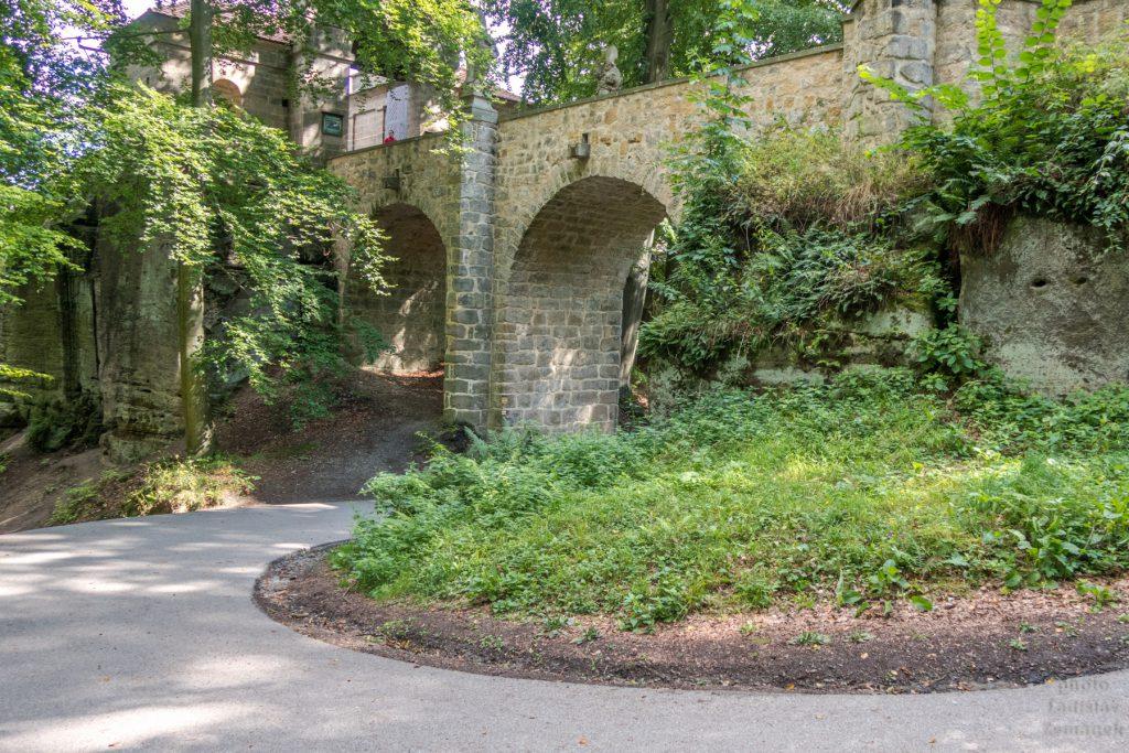 Hrad Valdštejn - most