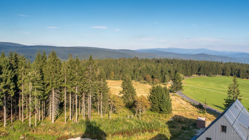 Jizerské hory - výhled z Královky
