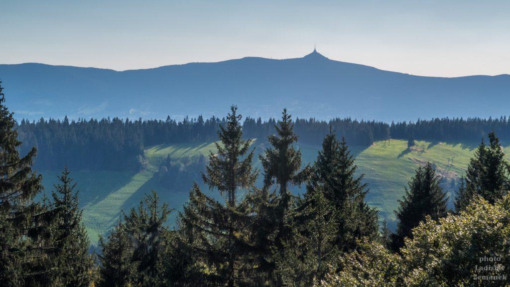 Jizerské hory - výhled na Ještěd
