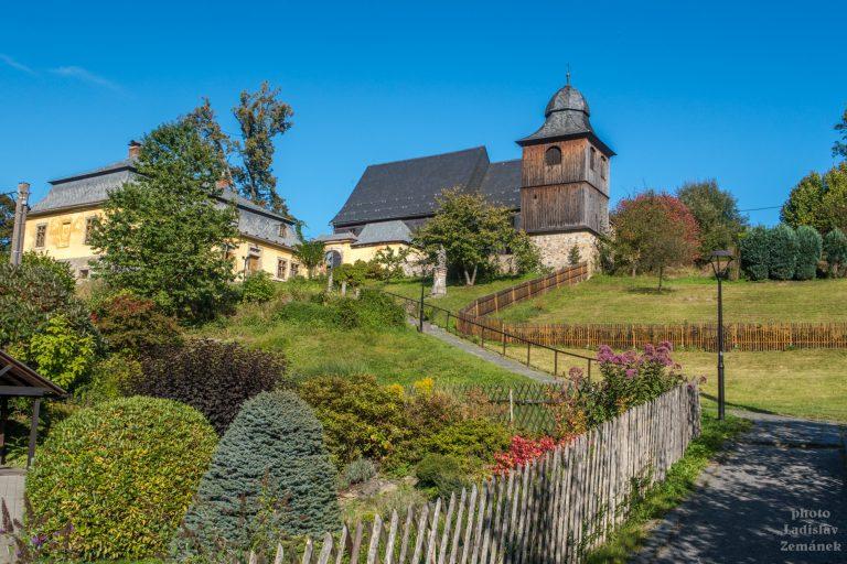Kostel sv. Kryštofa - Kryštofovo údolí
