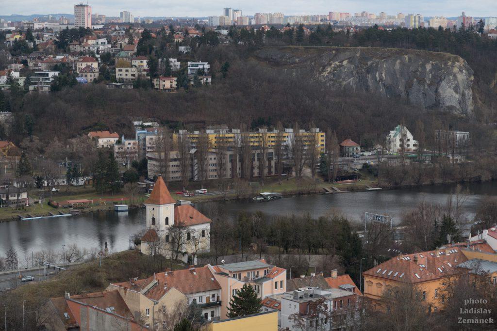 Prokopské údolí - výhled