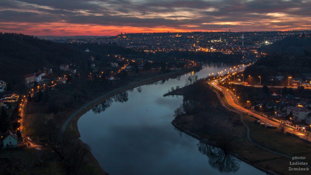 Praha - výhled z Podhoří