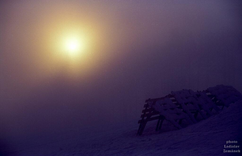 Orlické hory - Šerlich v mlze