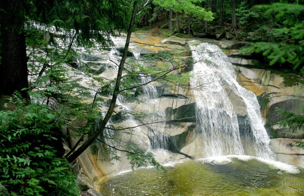 Krkonoše - Mumlavský vodopád