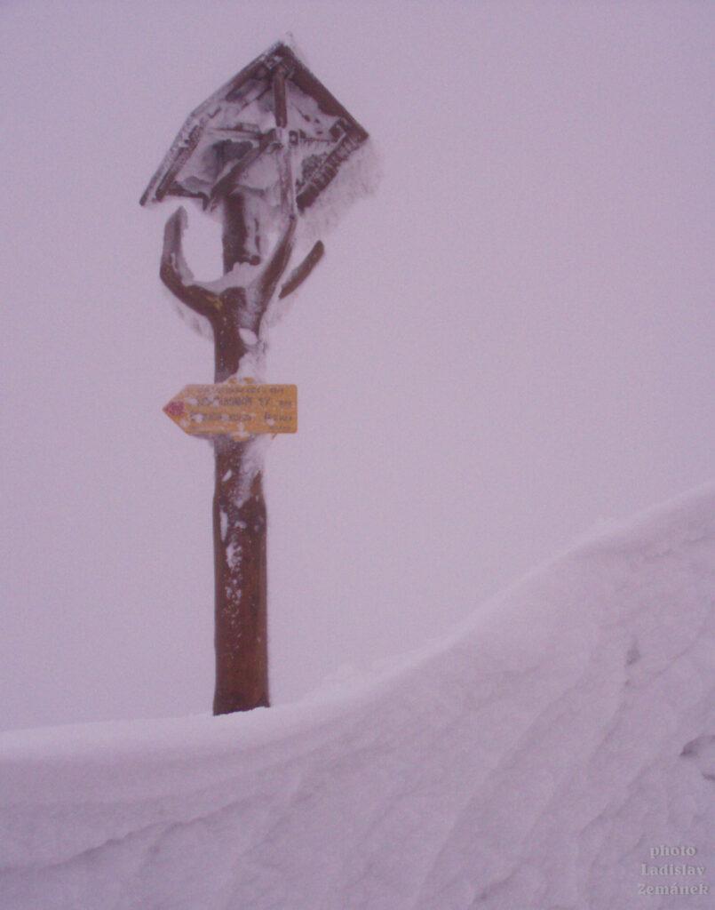 Orlické hory - Šerlich - rozcestník