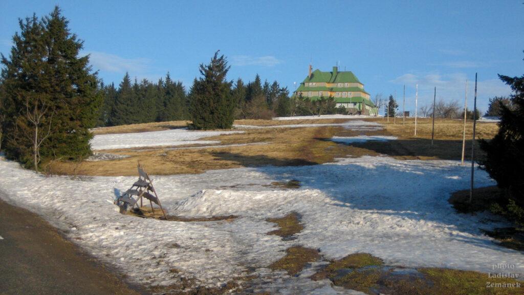 Orlické hory - Masarykova chata