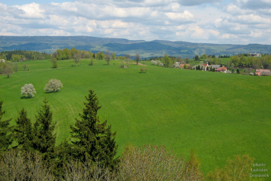 Orlické hory - Dobrošov - Jiráskova chata - výhled