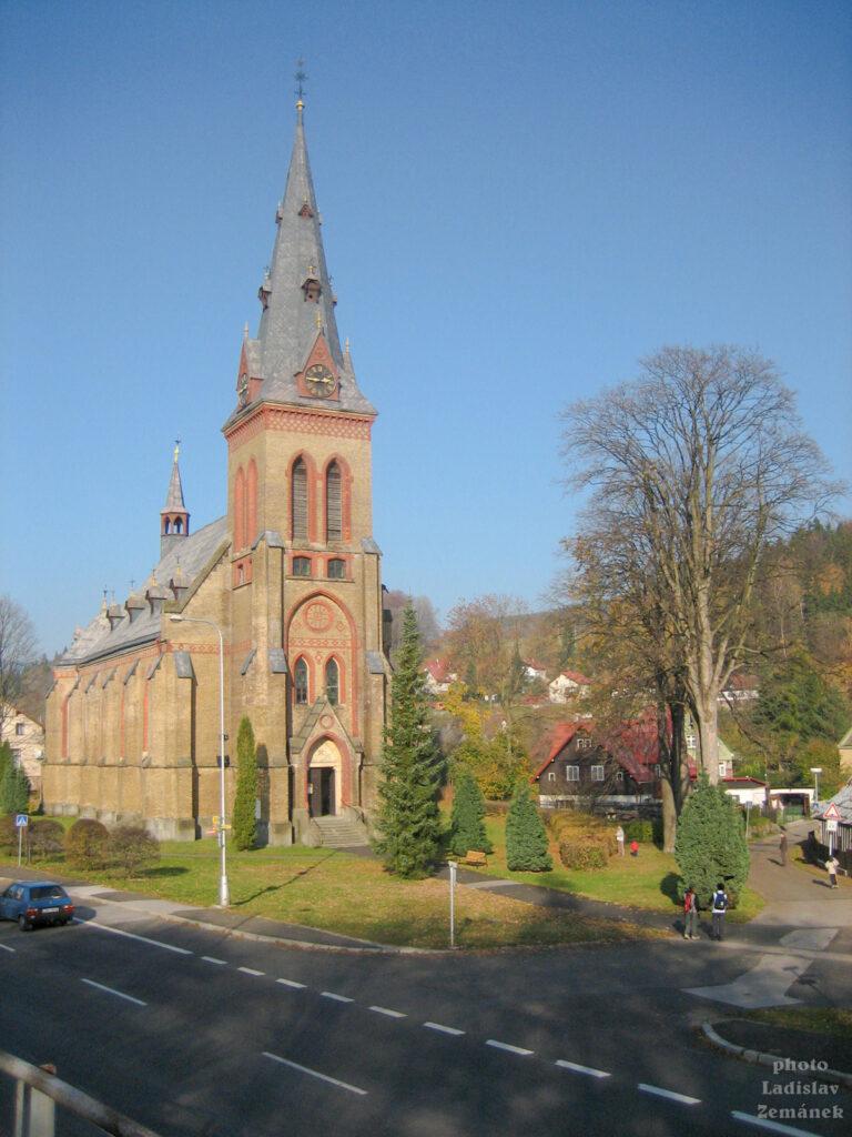 Horní Maršov - Kostel Nanebevzetí Panny Marie