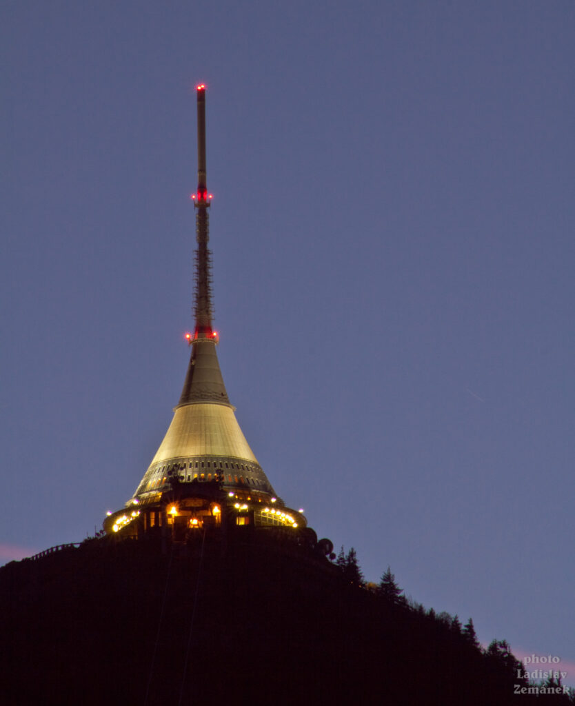 Vysílač na Ještědu