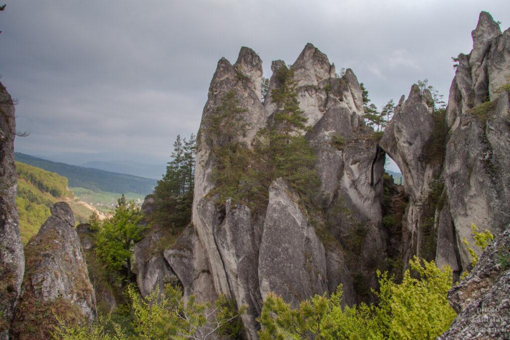 Súľovské skaly - Gotická brána