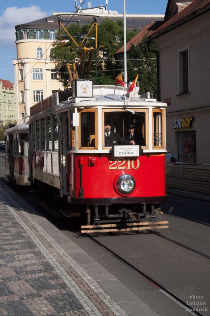 Historická tramvaj - Jindřišská ulice