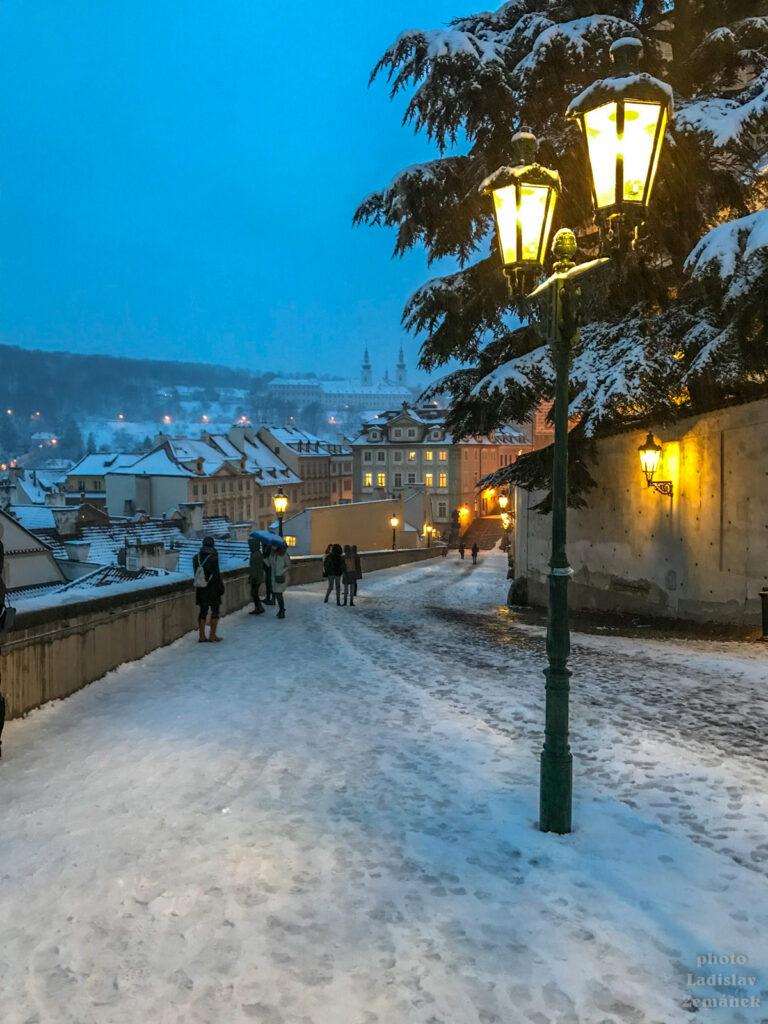 Plynové lampy na Hradčanech