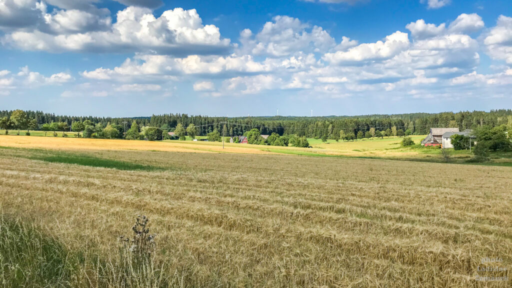 Cyklostezka na česko - německé hranici