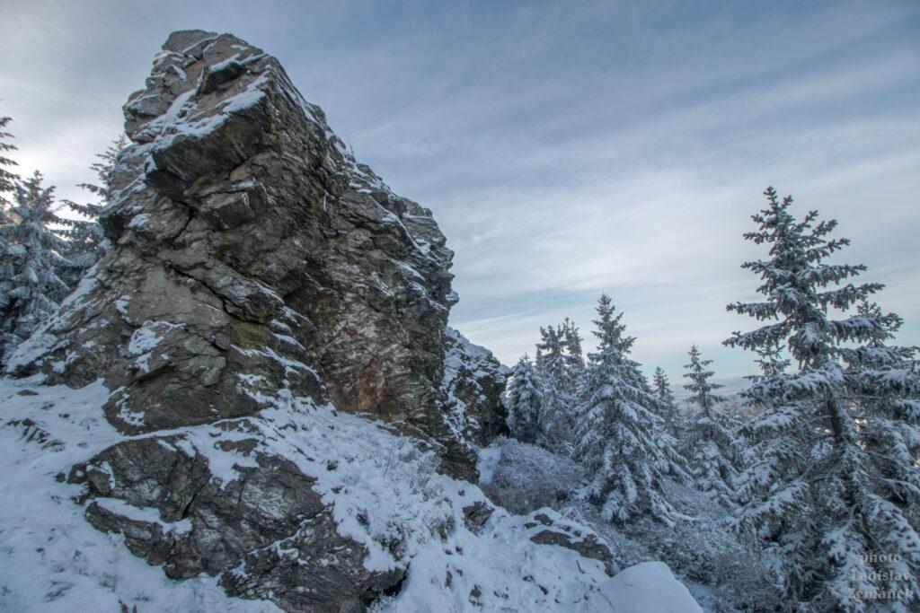 Kamenná vrata - Ještěd