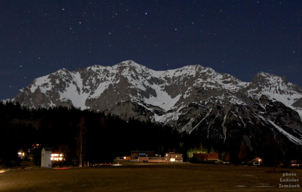 Ramsau am Dachstein - večer