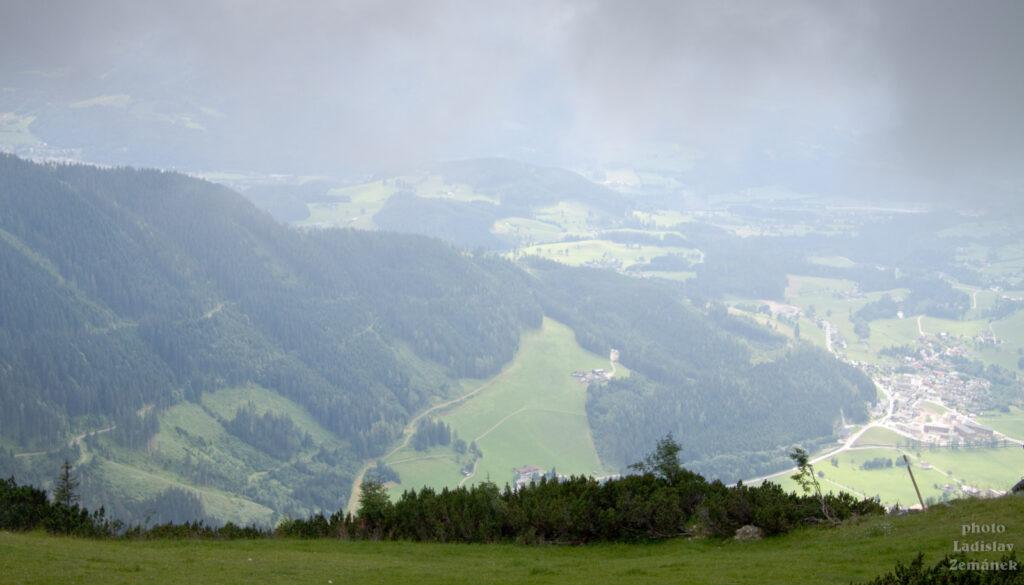 Bischlinghöhe - výhled na Werfenweng