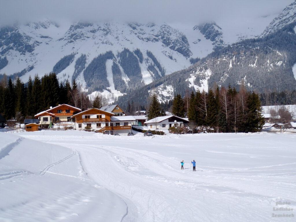 Ramsau am Dachstein - běžecké lyžování