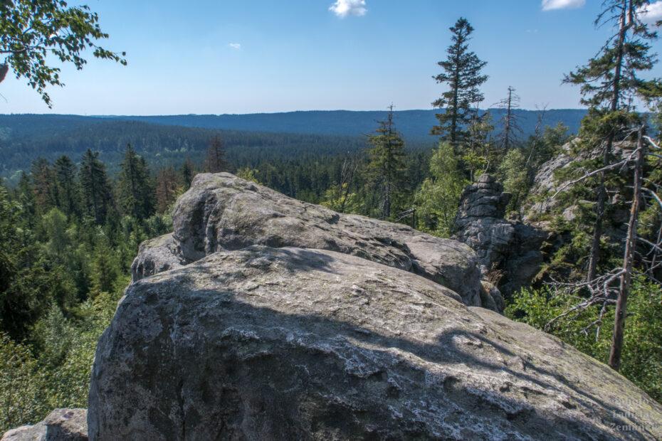Devět skal - výhled