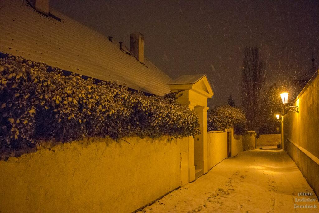 Nový Svět - sněžení