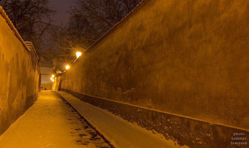 Nový Svět - zimní ráno
