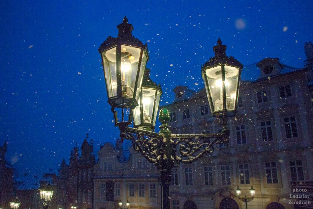 Praha - Malá Strana - plynové lampy