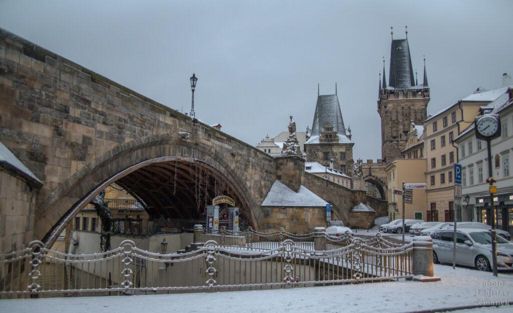 Karlův most nad Čertovkou