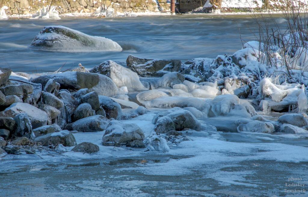 Led na Sázavě